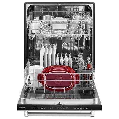 Top Control Built-in Dishwasher in Panel Ready with Stainless Steel Tub and ProScrub Option, 46 dBA