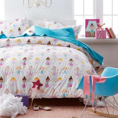 Good Fairies 200-Thread Count Cotton Percale Comforter