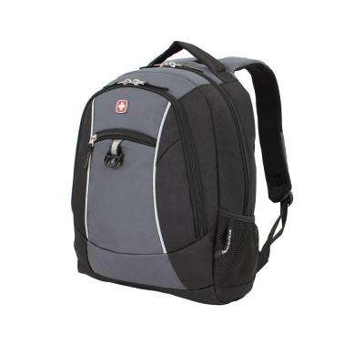 18 in. Black and Grey Backpack