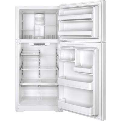 18.2 cu. ft. Top Freezer Refrigerator in White, ENERGY STAR