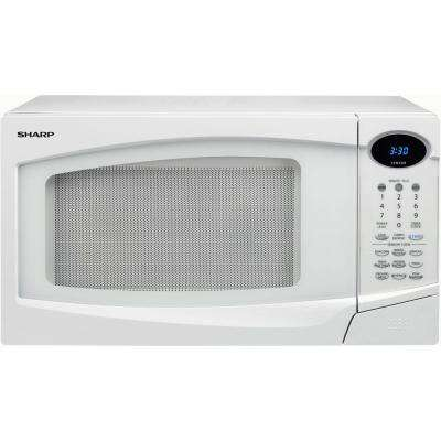 1.0 cu. ft. 1100 Watt Microwave with Sensor Cook in White-DISCONTINUED