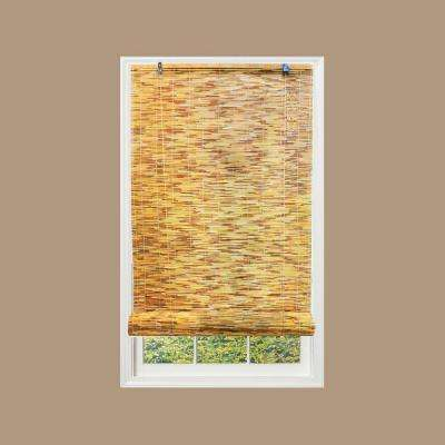 Natural Reed Rollup Bamboo Shade, 72 in. Length (Price Varies by Size)