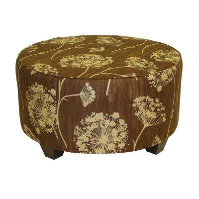 Chocolate Accent Ottoman