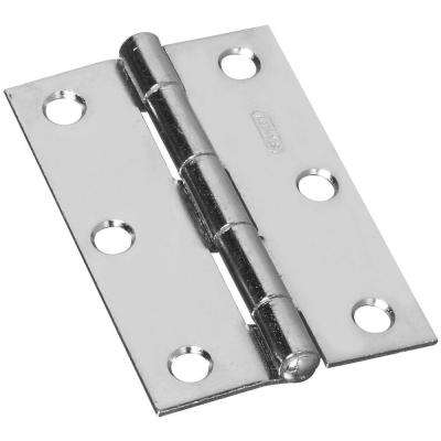 3 in. Narrow Utility Hinge Non-Removable Pin
