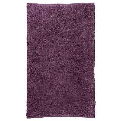Home Decorators Collection Royale Chenille Plum 2 ft. 3 inch x 3 ft. 9 inch Accent Rug