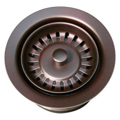3.5 in. Garbage Disposal Trim in Mahogany Bronze