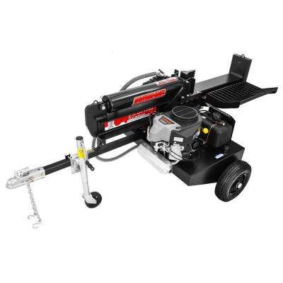 34-Ton 481 cc 14.5 HP Electric Start Commercial Grade Gas Powered Log Splitter