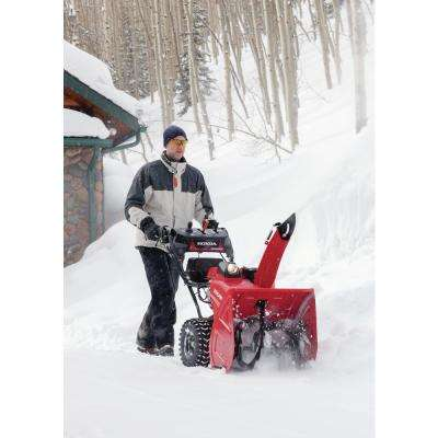24 in. Two-Stage Hydrostatic Wheel Drive Gas Powered Snow Blower with Electric Joystick Chute Control