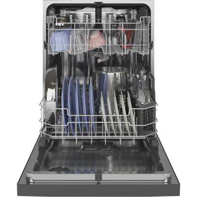 Top Control Tall Tub Dishwasher in Slate with Stainless Steel Tub and Steam Prewash, 48 dBA