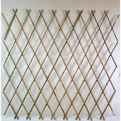 60 in. H Expandable Bamboo Poles Trellis