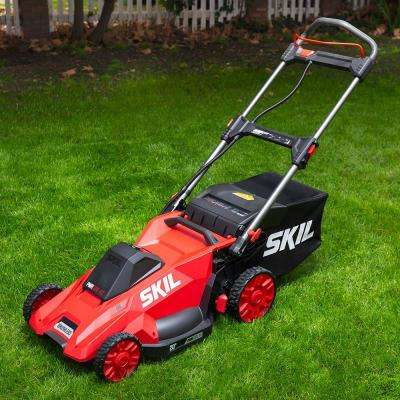 PWR CORE 20 in. 40V Lith-Ion Brushless Cordless Electric Walk Behind Push Mower, 5.0Ah Battery and Charger Included