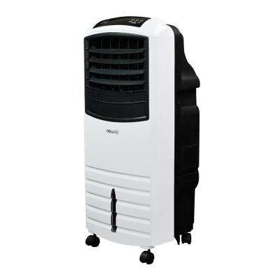1000 CFM 3-Speed White Portable Evaporative Cooler for 300 sq. ft.
