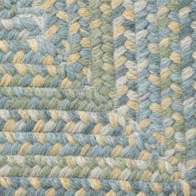 Cabin Whipple Blue 10 ft. x 13 ft. Rectangle Braided Area Rug