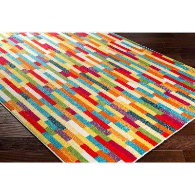 Pippy Multi 5 ft. x 8 ft. Indoor Area Rug