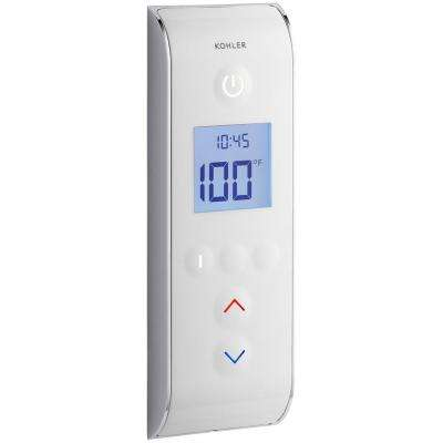 DTV Prompt Digital Shower Interface in White