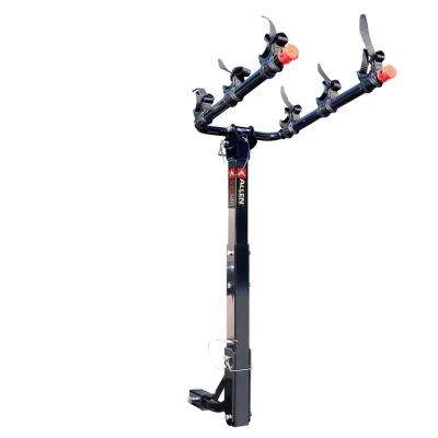 105 lbs. Capacity 3 Bike Vehicle 2 in.and 1.25 in. Hitch Bike Rack