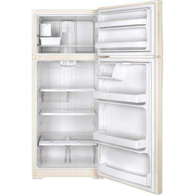 17.5 cu. ft. Top Freezer Refrigerator in Bisque, ENERGY STAR