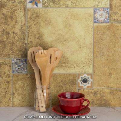 Avila Arenal Taco 2-3/4 in. x 2-3/4 in. Ceramic Floor and Wall Trim Tile (0.3 sq. ft. / pack)