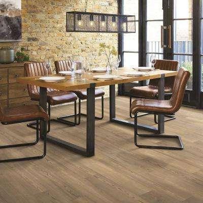 Burleson Pine 7.5 in. x 48 in. Luxury Rigid Vinyl Plank Flooring(17.32 sq. ft./Case)