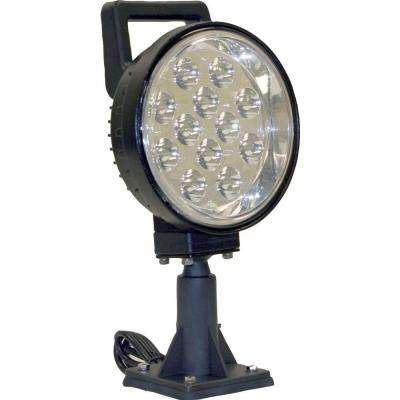 12-Clear LED 6 in. Round Spot Light
