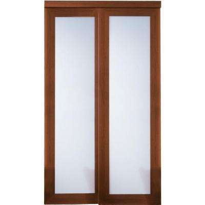 2000 Series Cherry 1 Lite Composite Grand Sliding Door
