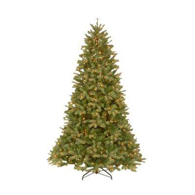 12 ft. Feel-Real Downswept Douglas Fir Artificial Christmas Tree with 1200 Clear Lights