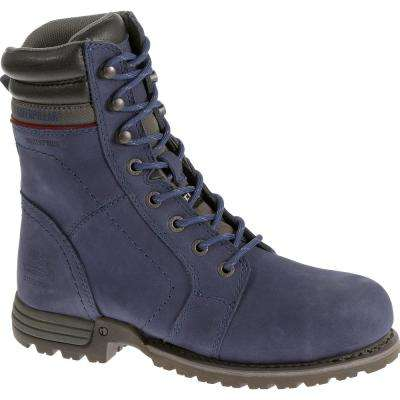 Women's Echo Waterproof 8'' Work Boots - Steel Toe