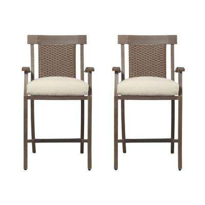 Bloomfield Patio Balcony Chairs with Cushion Insert (2-Pack) (Slipcovers Sold Separately)