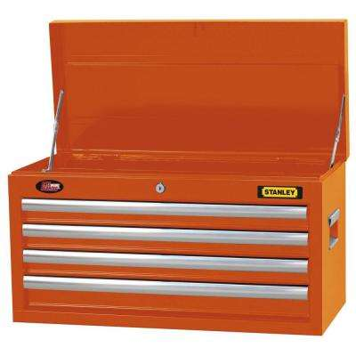 26 in. 4-Drawer Tool Chest in Wide Orange