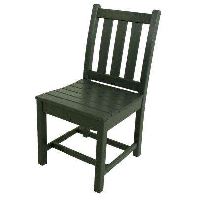 Traditional Garden Green Patio Dining Side Chair