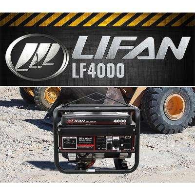 Pro Series 4,000/3,500-Watt Gasoline Powered Portable Generator