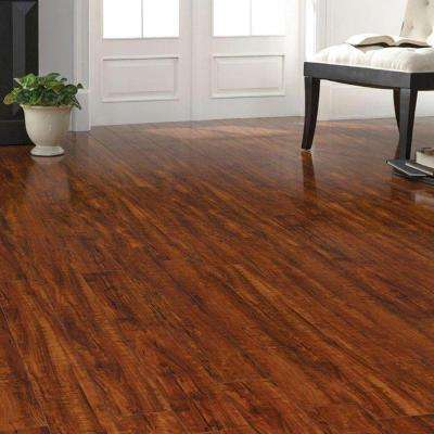 High Gloss Perry Hickory 8 mm Thick x 5 in. Wide x 47-3/4 in. Length Laminate Flooring (13.26 sq. ft. / case)