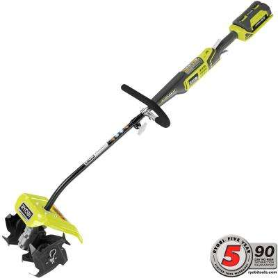 10 in. 40-Volt X Lithium-Ion Cordless Attachment Capable Cultivator - 2.4 Ah Battery and Charger Included