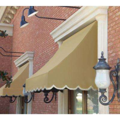 6 ft. Nantucket Awning (31 in. H x 24 in. D) in Tan