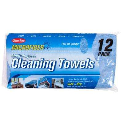 Microfiber Cleaning Towels (12 pack)