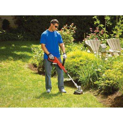 12 in. 20-Volt MAX Lithium-Ion Cordless 2-in-1 String Grass Trimmer/Lawn Edger w/(1) 2.0 Ah Battery and Charger
