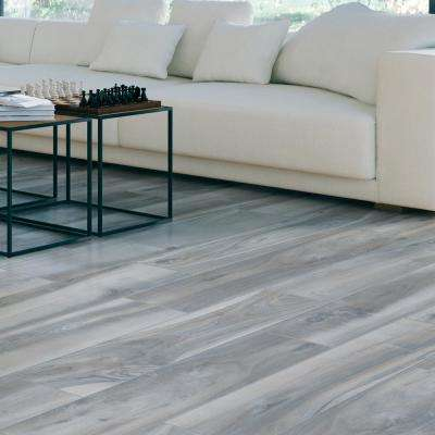 Outer Banks Blue 8 in. x 36 in. Porcelain Floor and Wall Tile (13.6 sq. ft.)