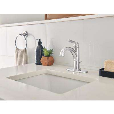 Westchester 4 in. Centerset Single-Handle Bathroom Faucet in Chrome