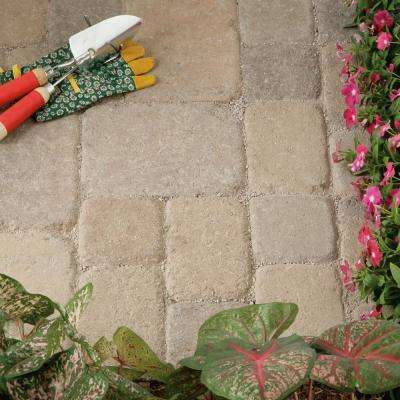 8.27 in. L x 5.51 in. W x 2.36 in. H Desert Blend Concrete Paver Plaza Tumbled (300-Pieces/96 sq. ft./Pallet)