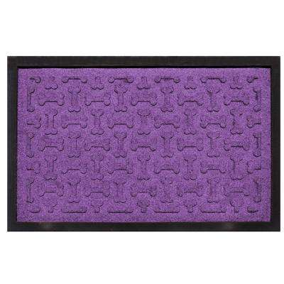 Purple 18 in. x 27 in. Dog Treats Boot Tray