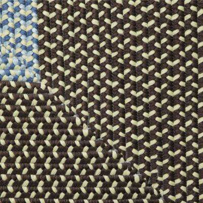 Blithe Brown 7 ft. x 9 ft. Braided Area Rug