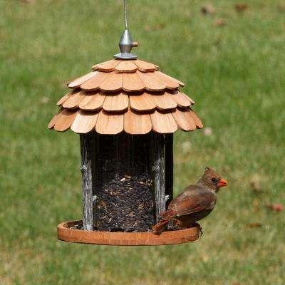 Gazebo Wood Bird Feeder - 2 lb. Capacity