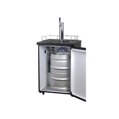 Full Size Beer Keg Dispenser with Single Tap