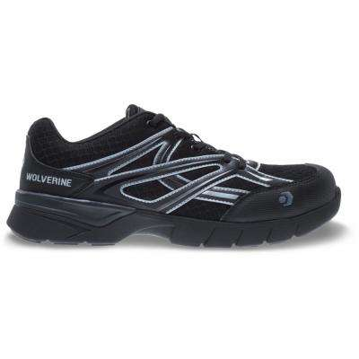 Men's Jetstream Black Mesh Composite Toe Shoe