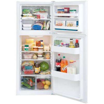 10 cu. ft. Top Freezer Refrigerator in White