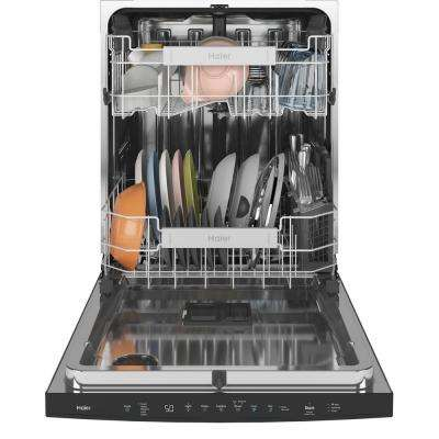Smart Top Control Tall Tub Dishwasher in Black Stainless Steel with Stainless Steel Tub and Steam Cleaning, 50 dBA