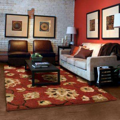 Como Rouge 8 ft. x 11 ft. Area Rug