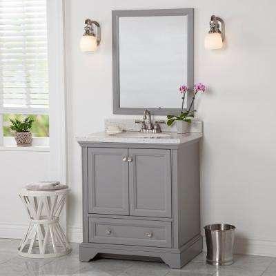 30 inch vanities engineered solid surface bathroom vanities rh homedepot com