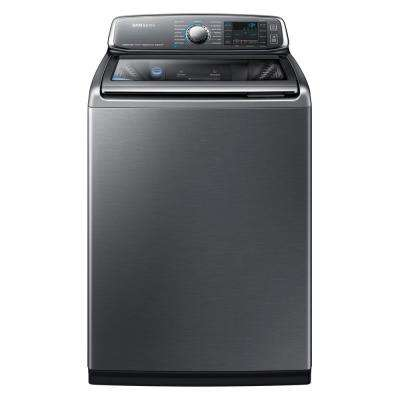 5.2 cu. ft. High-Efficiency Top Load Washer with Activewash in Platinum, ENERGY STAR