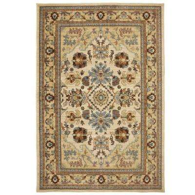 Charisma Butter Pecan 8 ft. x 10 ft. Area Rug